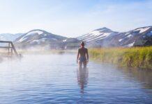islandia gorące źródła Landmannalaugar