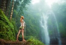 Wodospad na Bali