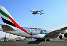 Samolot Emirates_a380