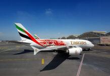 samolot z nietypowym malowaniem na płycie lotniska