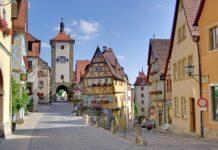 Rothenburg ob der Tauber, Bawaria, Niemcy