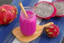 Red Dragon Fruit Smoothie Recipe