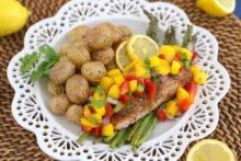 Jamaican Jerk Salmon in the Air Fryer