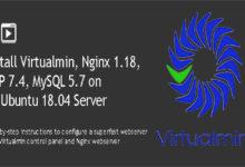 Install Virtualmin with Nginx