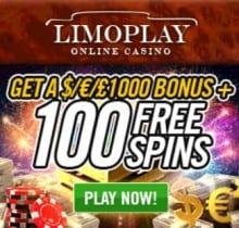 LimoPlay Casino free bonus