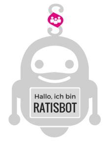 Logo RATISBOT - der erste deutsche Anwalts-Chatbot