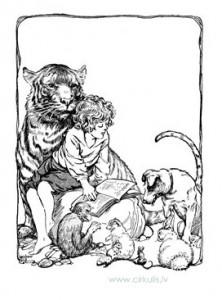 Ilustrācijas un krāsojami zīmējumi