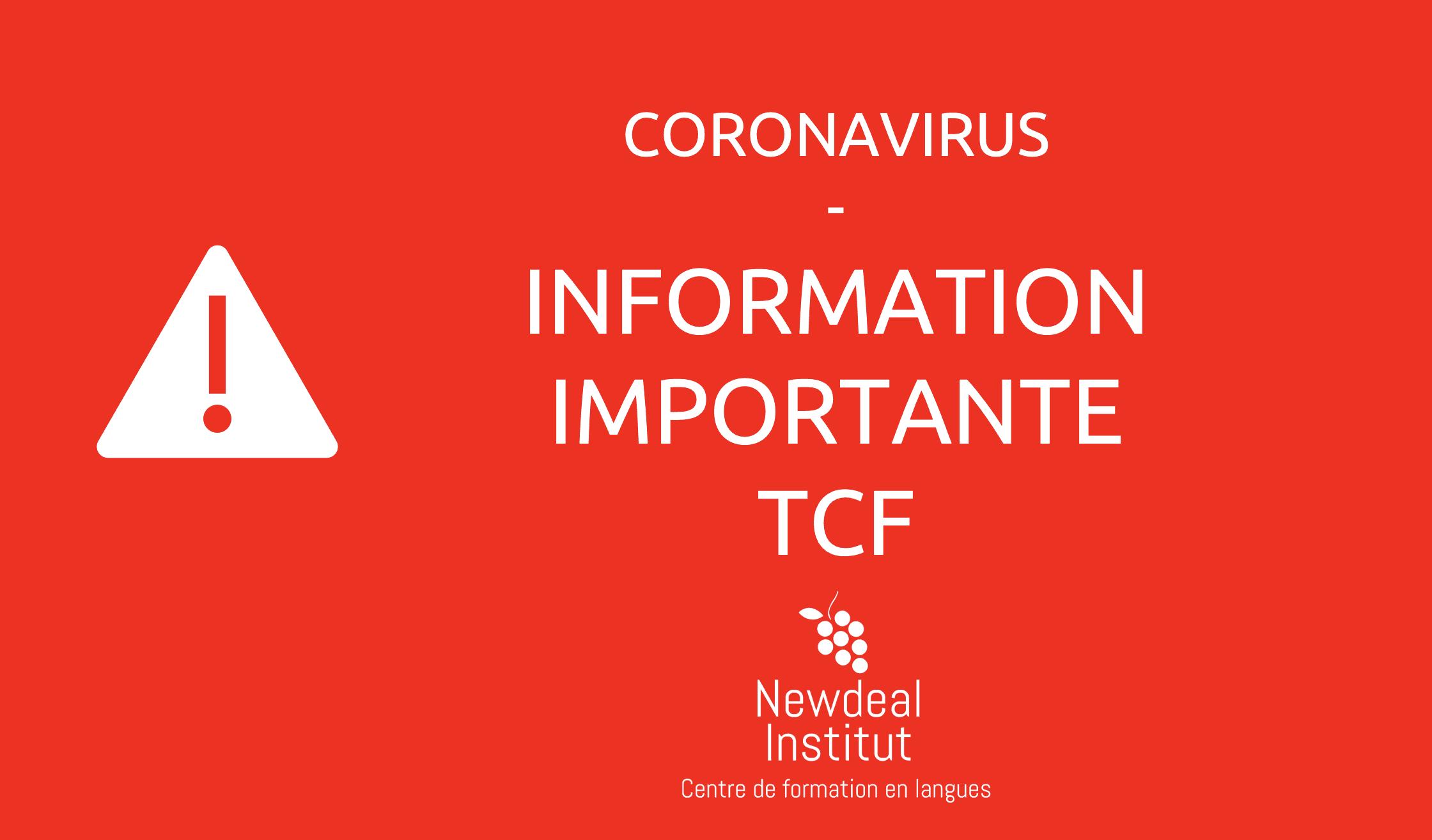 information examen et test de français ecole de français bordeaux coronavirus