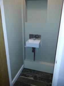 Cloakroom rebuild
