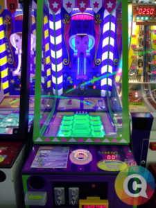 Cara Mendapatkan Jackpot Tiket di Mesin Arcade Red Elephant / Circus Ball Drop
