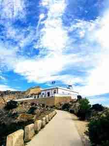 de camino al Faro de Albir