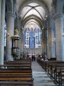 Carcassonne Kirche