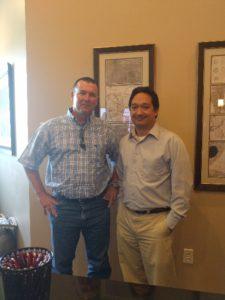 J.P. with Attorney Alex Gentry