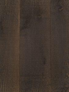 Geborstelde eiken houten vloer