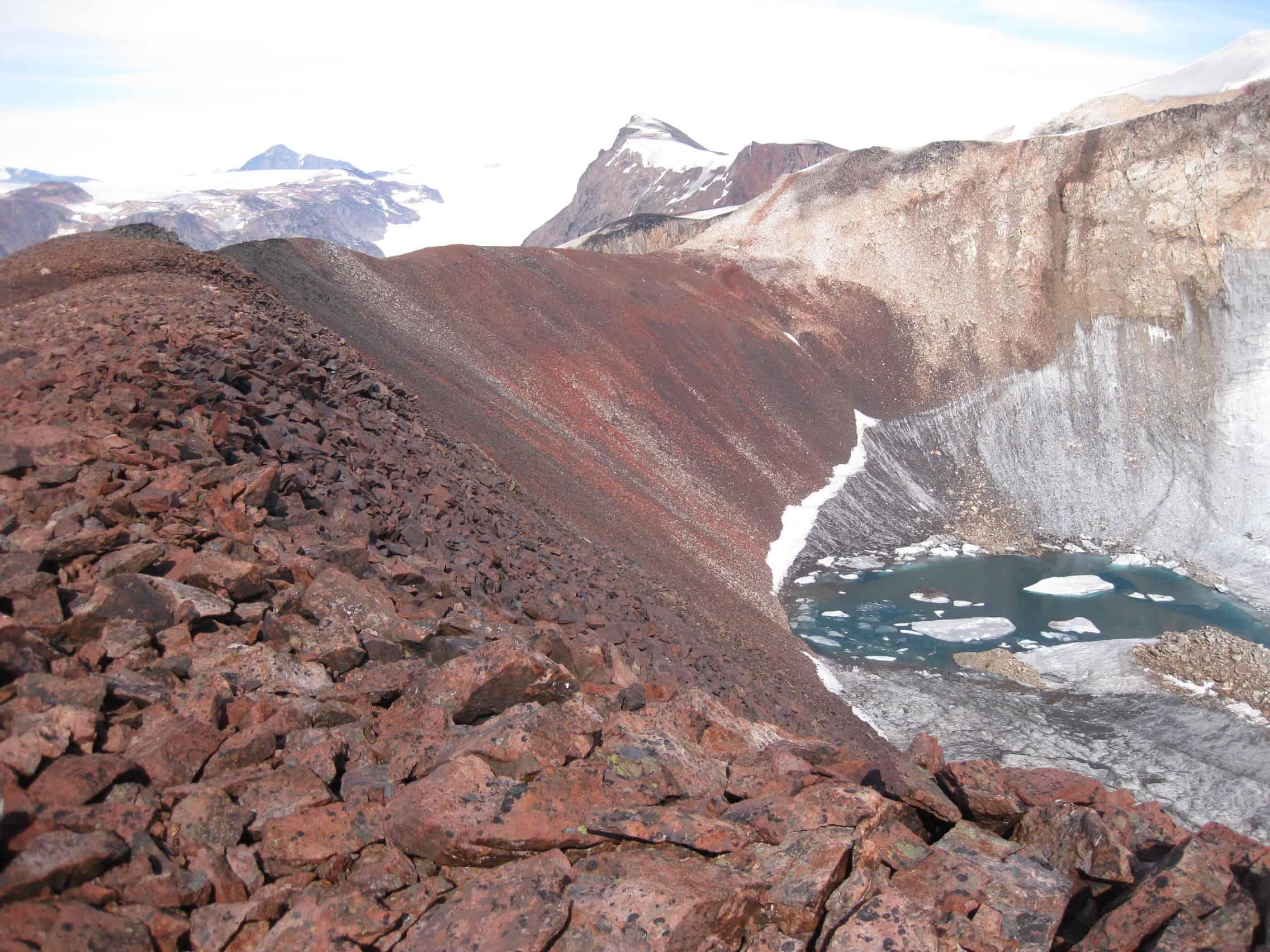 Volcanic deposits