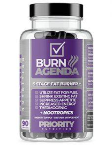 Priority Nutrition Päivittäinen poltto 5 Stage Fat Burner