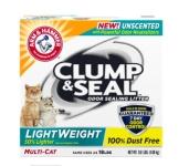Arm & Hammer Cat litter on sale for just $3.99 (Reg.$10.99)