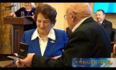 ՏԵՍԱՆՅՈՒԹ. Ռոզա Ծառուկյանը Մոսկվայում արժանացել է Դիանա Աբգարի անվան պատվո մեդալի