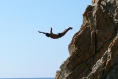 Voyage à Acapulco plongeon