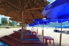 Transat et plage Da Nang
