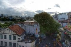 Hanoi vue de terrasse