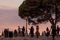 Lisbonne coucher de soleil