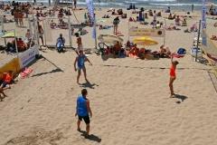 Marseille Plage des Catalans beach volley