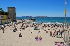 Marseille Plage des Catalans 2017