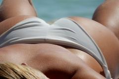 plage bronzer