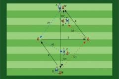 Fußballübungen für dein Fußballtraining.  Paket 01 - E-Book: Passspiel und Ballmitnahme