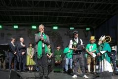 Dieter Reiter (Mitte), After Parade Party St. Patricks Day am Wittelsbacher Platz in München 2019
