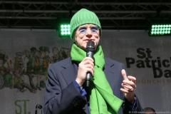 Erich Lejeune, After Parade Party St. Patricks Day am Wittelsbacher Platz in München 2019