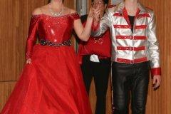 Prinzenpaar Nina I. und Lukas I., Inthronisation der Würmesia Prinzenpaare in der Mehrzweckhalle in Neuried  2020