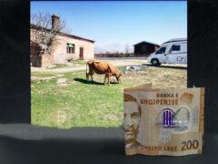 Albanien - Geldschein