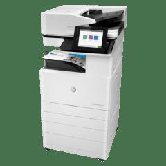 HP Colour LaserJet Managed E77825dn Left View web