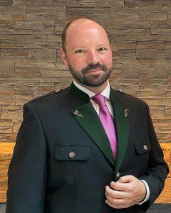 Astoria Seefeld Direktor Das neue Gesicht im Astoria Seefeld: Hoteldirektor Anton Gustav Birnbaum.