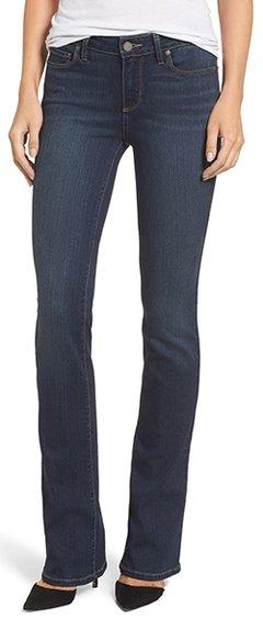Stylish clothes - PAIGE Transcend - Manhattan bootcut jeans | 40plusstyle.com