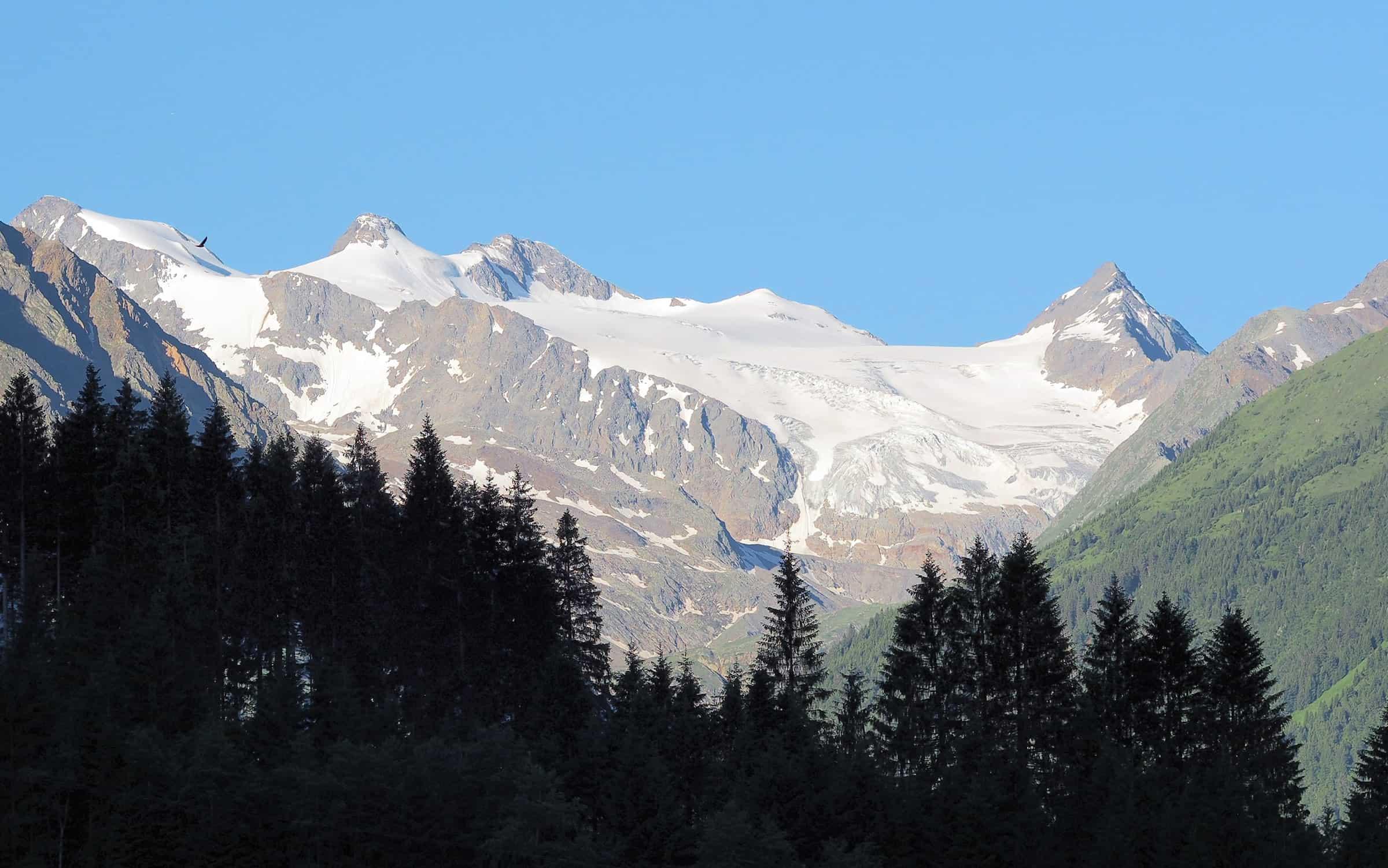 Altijd sneeuw op de Stubai gletsjer 1