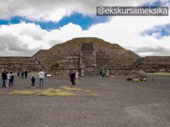 Пирамидальный город Теотиуакан