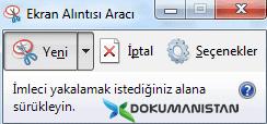 Windows Ekran Alıntısı Aracı