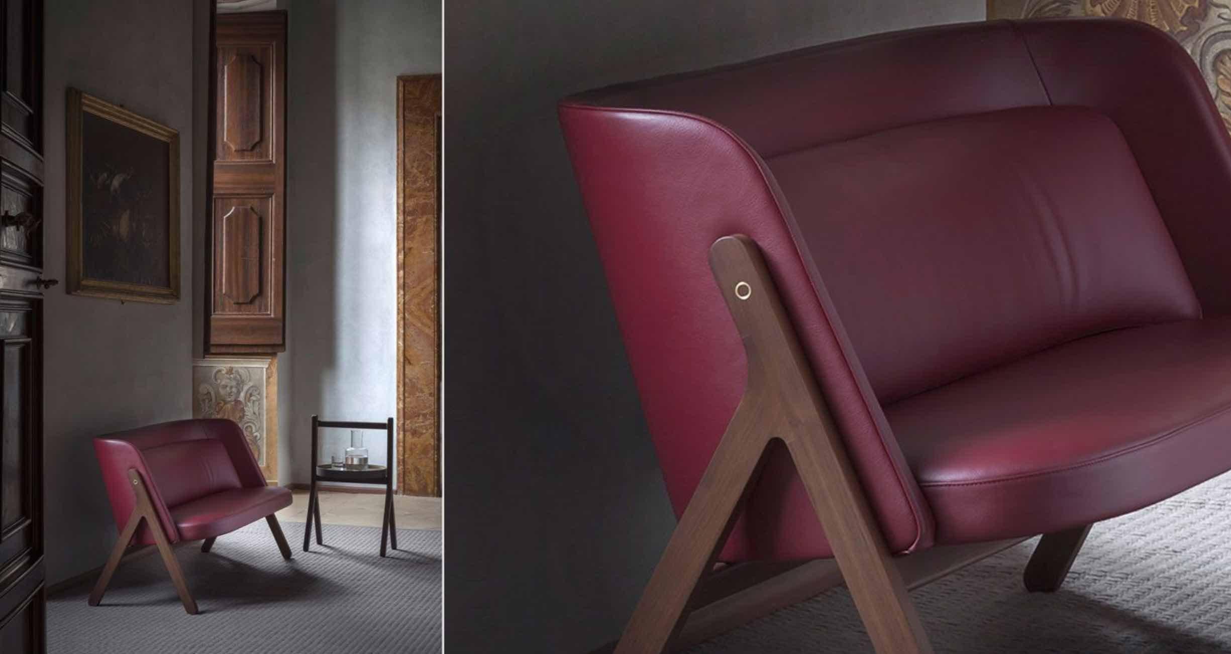 Ren | design- Neri & Hu | Poltrona Frau