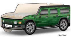 Кровать-машина Джип Хаммер 1