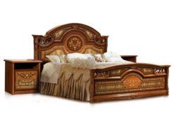 Кровать Карина-1 (2 спинки) с основанием 2
