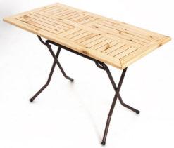 Складной стол реечный Валенсия-127 (25 РСО ПНД) 1