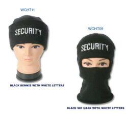 Security Masks & Beanies