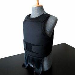 Skarr Armor NIJ Certified Kevlar Concealable Bulletproof Vest SKVC-01BK