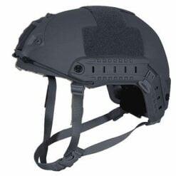 Skarr Armor Kevlar NIJ IIIA Bulletproof + V50 Fragproof MICH Helmet SWAT Grey