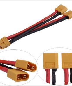 Adaptador conexión batería LIPO en paralelo XT60