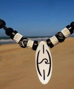 Surferhalskette Mentawais Wellenkette Männerkette