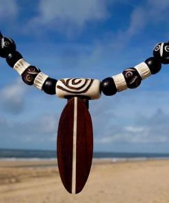 Surferkette Kelly Surfbrett Lederkette